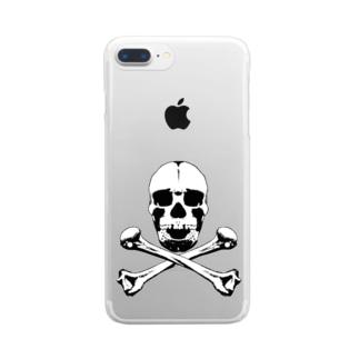毒髏DOCURO Clear smartphone cases