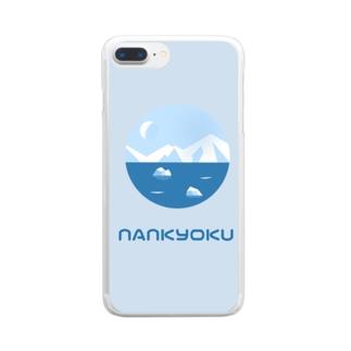 なんきょく Clear smartphone cases