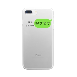 とある青春のIページ Clear smartphone cases