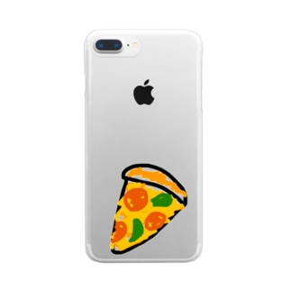 pizza club Clear Smartphone Case