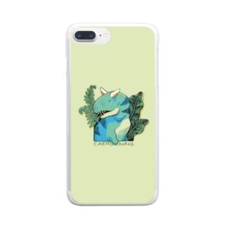 カルノスマホ Clear smartphone cases