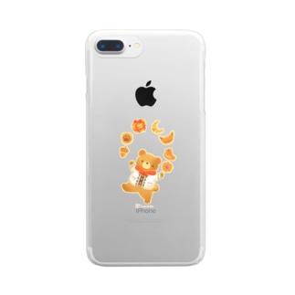 パン屋の男の子 Clear smartphone cases