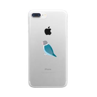 Kotori blue Clear smartphone cases