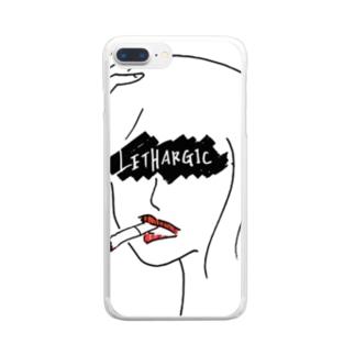 気怠げ Clear smartphone cases