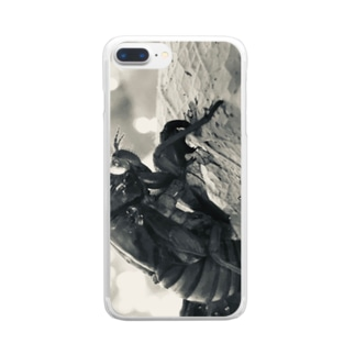 抜け殻 Clear smartphone cases