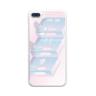 バカンス Clear smartphone cases