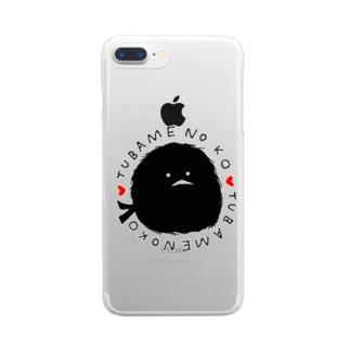 燕の子 Clear smartphone cases