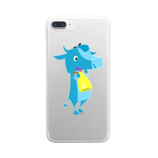 ジョン・アンドー Clear smartphone cases
