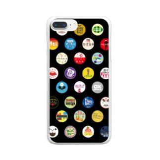 YURU SPORTS LOGO2 Clear smartphone cases