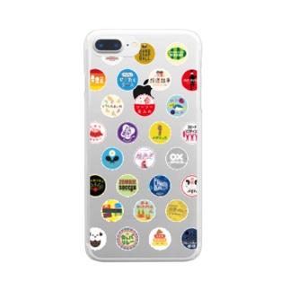 YURU SPORTS LOGO3 Clear smartphone cases