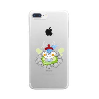 ユーミーマン♪いい湯だな Clear smartphone cases