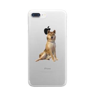 ちょっとだけよ〜 Clear smartphone cases