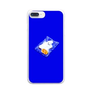 パッキング Clear smartphone cases