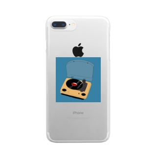 憧れのレコード Clear smartphone cases