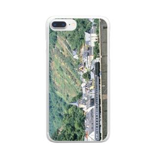 ドイツ:ライン河畔の風景写真 Germany: Riverside view of rhein Clear smartphone cases