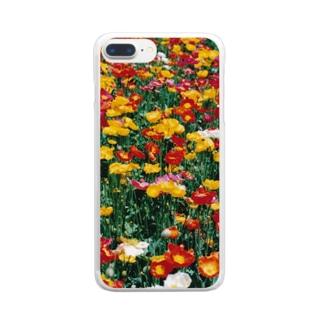 こんな暖かな彩に乗って・・・ Clear smartphone cases