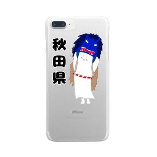 ユリンさんデザイン(地域別バージョン) Clear smartphone cases