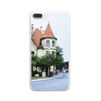 ドイツ:フュッセンの風景写真 Germany: view of Füssen Clear smartphone cases