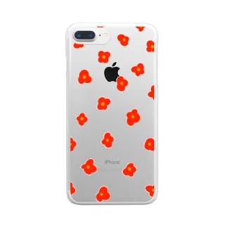 ハナ・アカ Clear smartphone cases