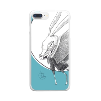 苔ttish!! feat.|neoFactoryのすり抜ける Clear smartphone cases