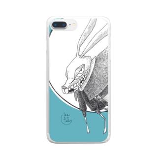 すり抜ける Clear smartphone cases