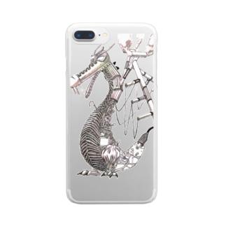 ガラクタドラゴン Clear smartphone cases