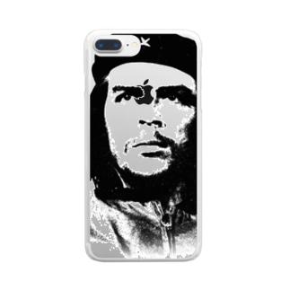 チェゲバラ Clear smartphone cases