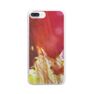 fureai/kakizome1 Clear smartphone cases
