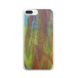 fureai/kakizome2 Clear smartphone cases