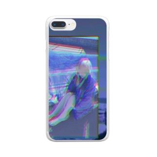 粗大ゴミちゃん Clear smartphone cases