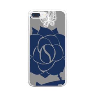 青薔薇 Clear Smartphone Case
