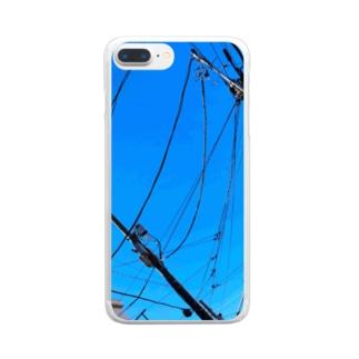 晴天 Clear smartphone cases