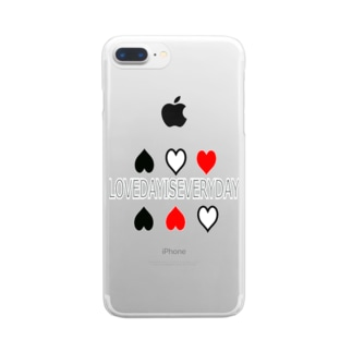 LOVE DAY  Clear smartphone cases