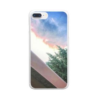 そらのいろ Clear smartphone cases