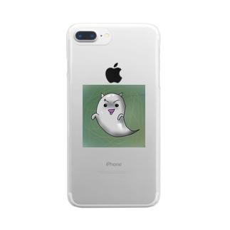 チョメチョメ君 Clear smartphone cases