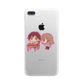 ともだち Clear smartphone cases
