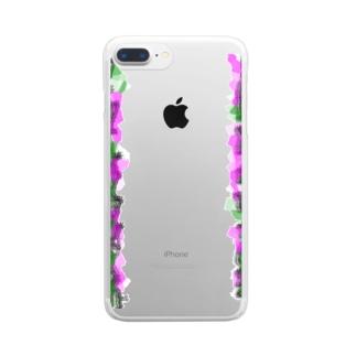 サクラ2 Clear smartphone cases