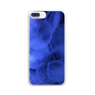 クラゲ   可愛くない? Clear smartphone cases