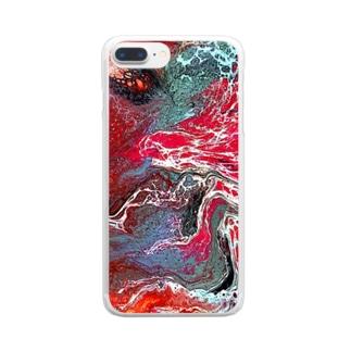 喜怒哀楽 Clear smartphone cases