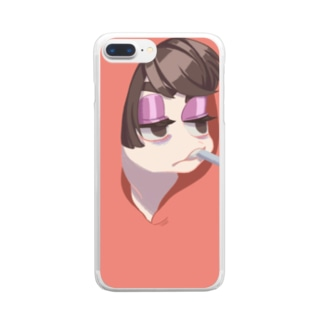 TA☆BA☆KO?! Clear smartphone cases