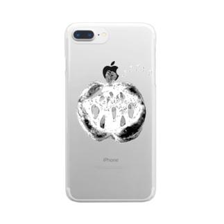 アップルパイ🍎の鼻唄 Clear smartphone cases