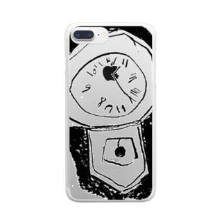 いつかのとけい Clear smartphone cases