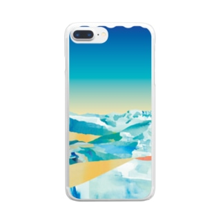 Summer Snow Clear Smartphone Case