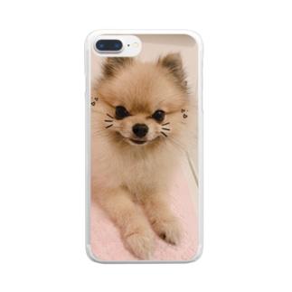 ルルーシュ君 Clear smartphone cases