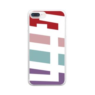 タナカさん名入れグッズ(カタカナ)難読?  Clear smartphone cases