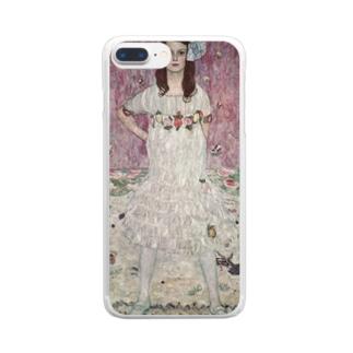 art-standard(アートスタンダード)のグスタフ・クリムト(Gustav Klimt) / 『メーダ・プリマヴェージ』(1912年) Clear Smartphone Case