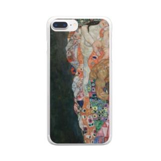 グスタフ・クリムト(Gustav Klimt) / 『死と生』(1915年) Clear smartphone cases