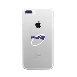 スピノ Clear smartphone cases