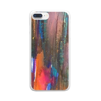 cosmic Clear smartphone cases