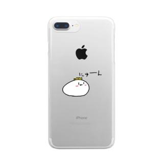 にゅーんくん Clear Smartphone Case